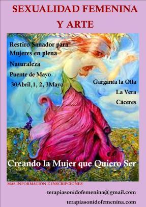 Retiro Sexualidad y Arte Mayo 2015