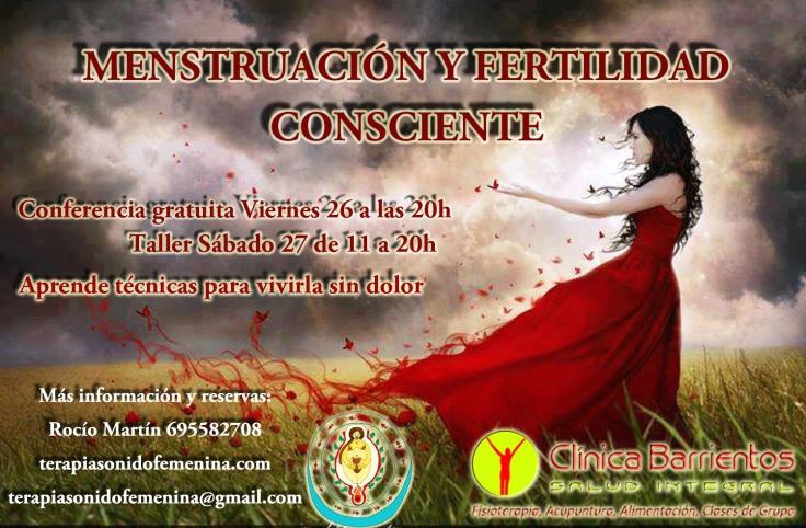 Cartel Barrientos Menstruación